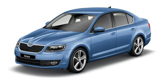 Skoda Octavia 2013 denim blue