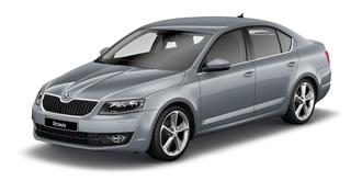 Skoda Octavia 2013 platin grey