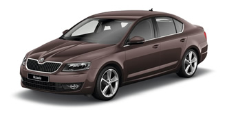 Skoda Octavia 2013 topaz brown